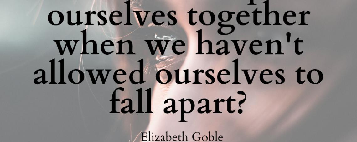 On Falling Apart